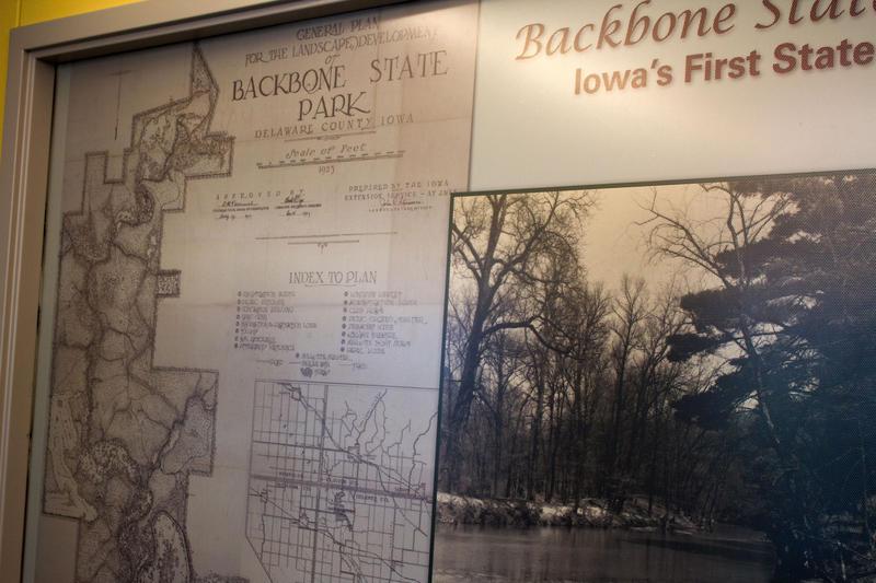 Backbone state park iowa wedding