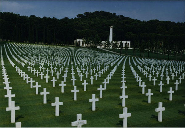 "Nelson's remains were classified ""unknown"" and buried at Florence American Cemetery in Italy."