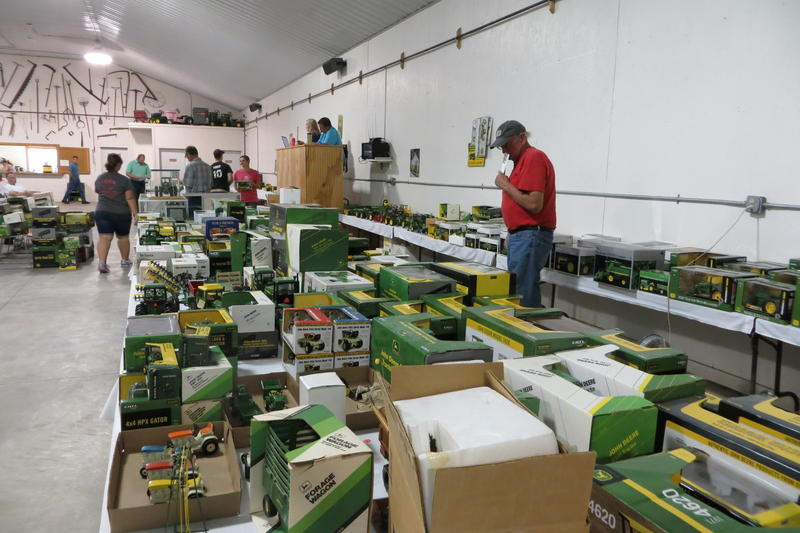 Farm Toy Auction in Frytown, IA