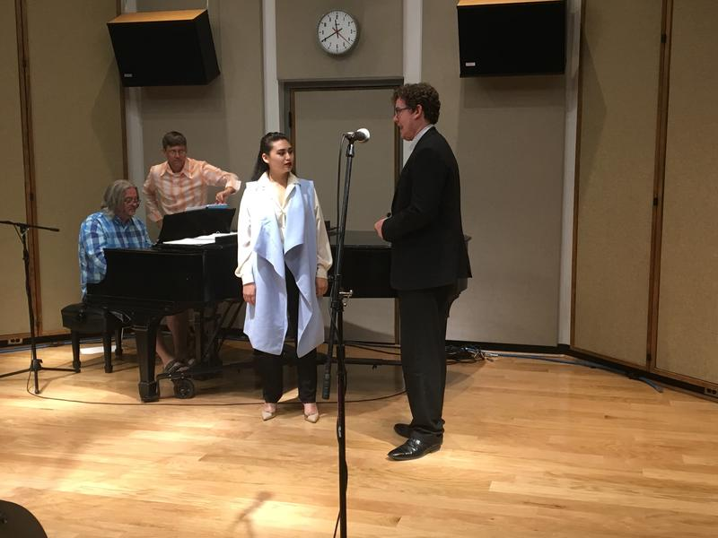 "Nicole Besa and Wesley Frye perform ""Fragile Heart/Waiting"" from ""Speed Dating Tonight!"""