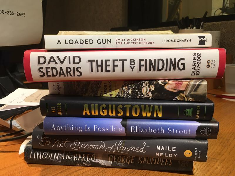 Jan's stack of book recommendations