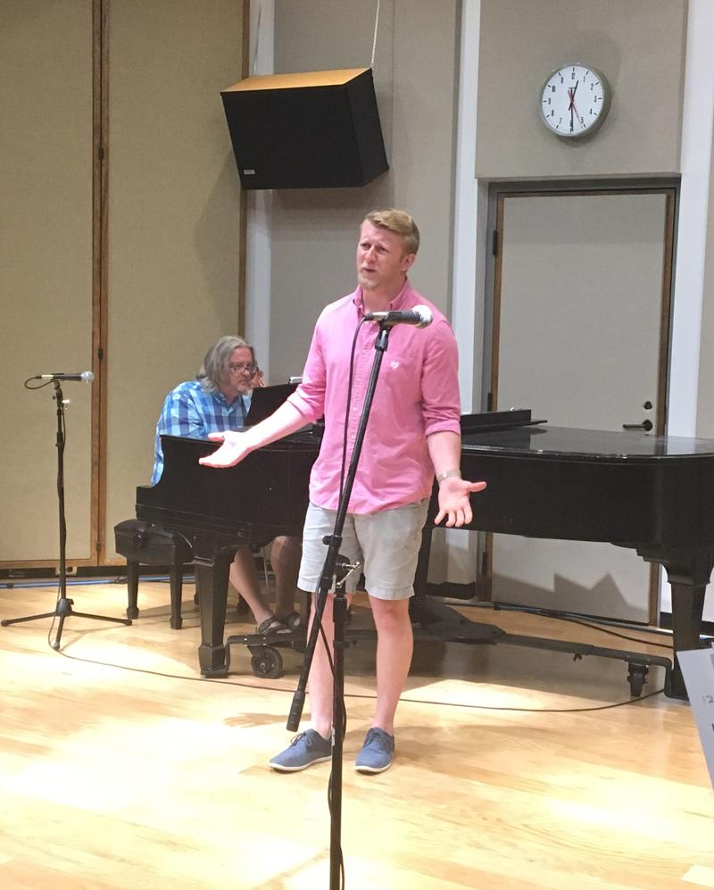 "Kellan Schrimper performs Dater #5 Aria from ""Speed Dating Tonight!"""