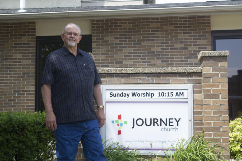 Marc Wallace came to Denison to reinvigorate a dying church and is trying to grow a multicultural congregation at Journey Church.