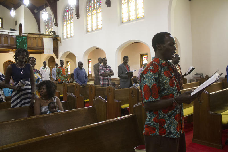 The South Sudanese Community Lutheran Church meets at Zion Lutheran Church in Denison on Sunday afternoons.