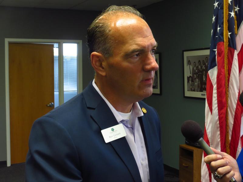GOP Gubernatorial Candidate Ron Corbett