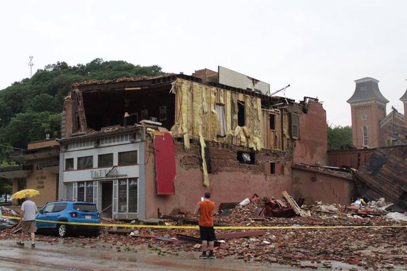 McGregor tornado damage