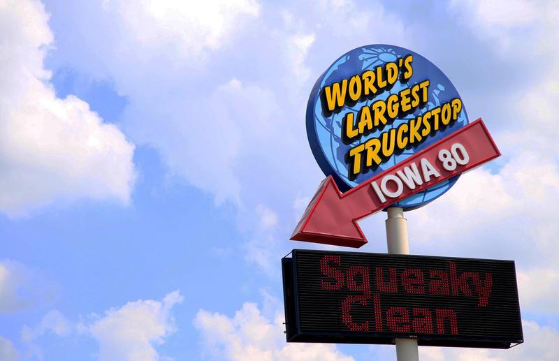 Iowa 80, The World's Largest Truckstop, Near Walcott, Iowa