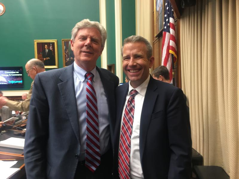 David Cwiertny (right) with House Energy and Commerce Ranking Member Frank Pallone, Jr. from New Jersey's 6th district.