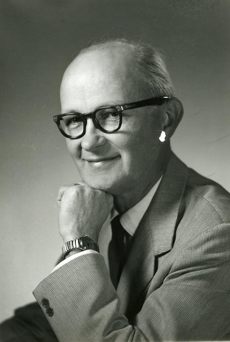 UNI Trailblazer Herbert V. Hake