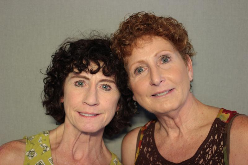 Mary Madsen and Nancy Muhs