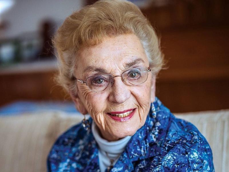 Holocaust survivor Celina Karp Biniaz