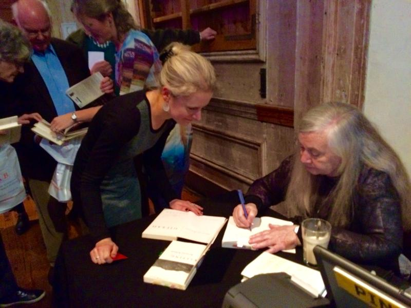 Pulitzer Prize winner Marilynne Robinson (right) will be one of the writers reading during Sunday's Hurricane Relief benefit in Iowa City.