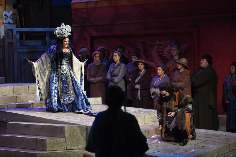"DMMO's production of ""Turandot"""