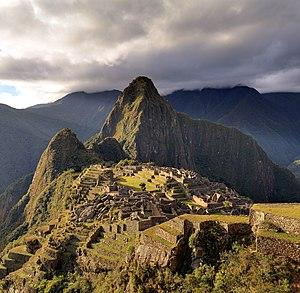 Machu Picchu in Peru, one of the sites featured in the book
