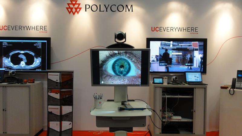 Polycom Telemedicine at the HC 2011 Conference, Birmingham