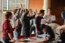 Grinnell's student union had hoped to expand its membership to cover other jobs on campus.