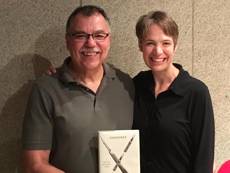 Author Jon Kerstetter with host Charity Nebbe