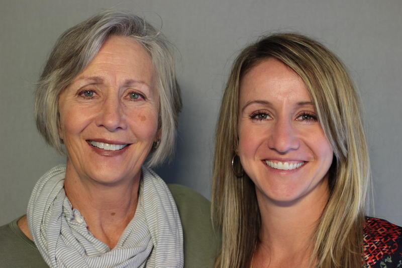Jamie Christie Christensen and her daughter Jenna Simpson Davidson