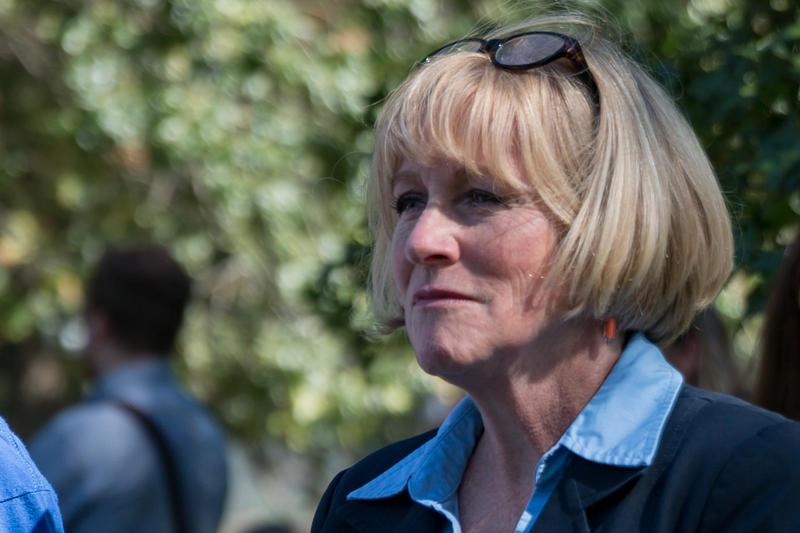 Democratic Iowa gubernatorial candidate Cathy Glasson.