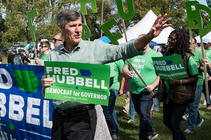 Democratic Iowa gubernatorial candidate Fred Hubbell.