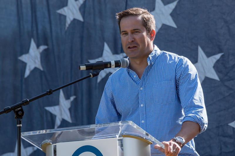 Representative Seth Moulton from Massachusetts' 6th Congressional District.