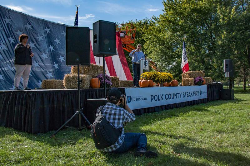 Congressman Tim Ryan (D-OH) speaks at the Polk County Democrats Steak Fry 9/30/2017