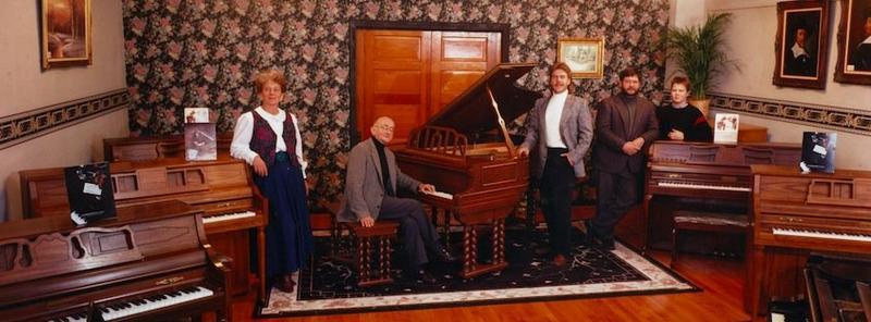 The original ragtime studio of Bob McNutt