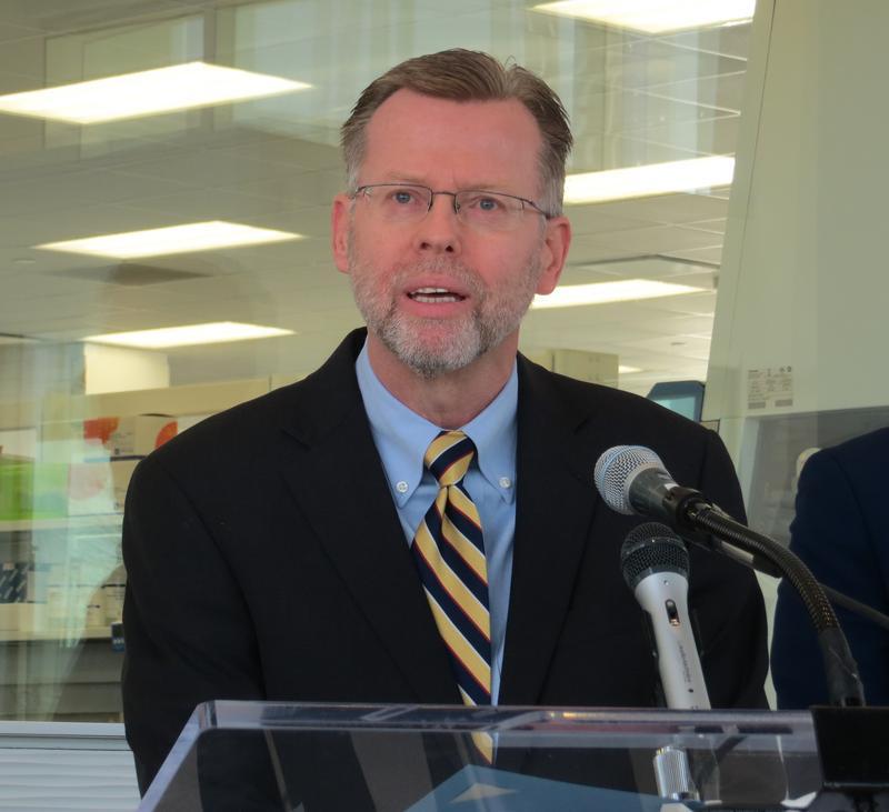Iowa Department of Public Health Director Gerd Clabaugh