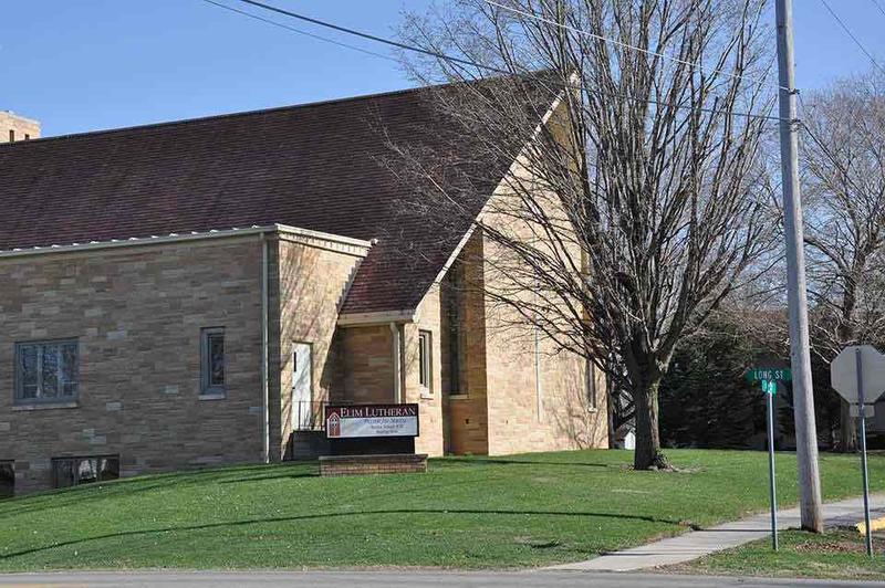 Elim Lutheran Church in Randall, Iowa