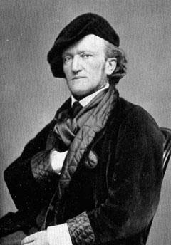 Wagner, German composer, in 1868