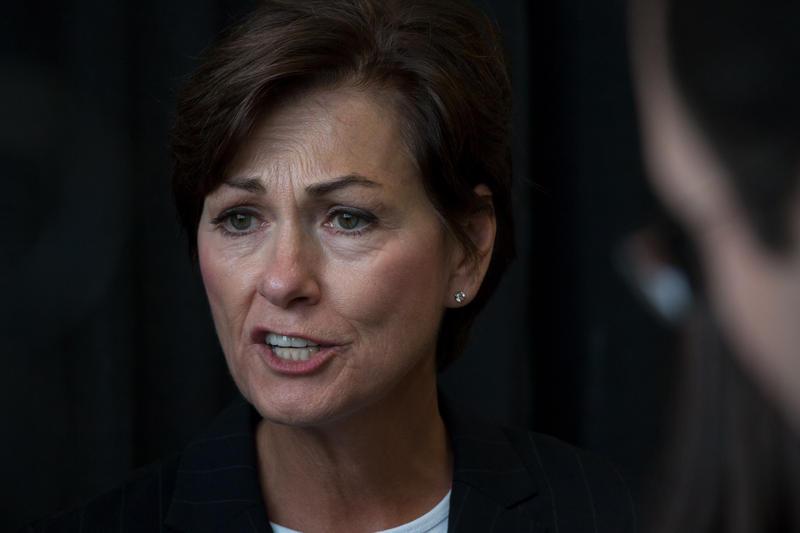 Iowa Governor Kim Reynolds.