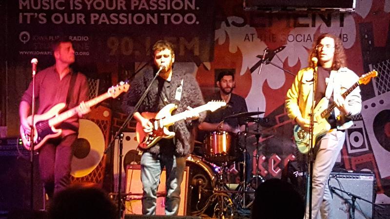 The Fuss perform live on IPR's Studio One Underground in November.