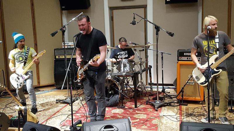 The Des Moine band Hazer, performing in our Cedar Falls studios in November.