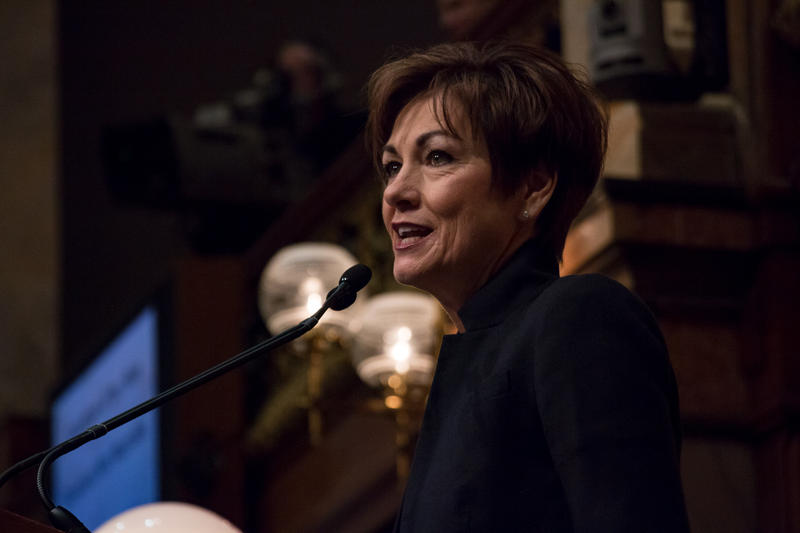 Iowa Gov. Kim Reynolds, delivering the 2018 Condition of the State Address
