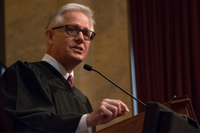 Iowa Chief Justice Mark Cady