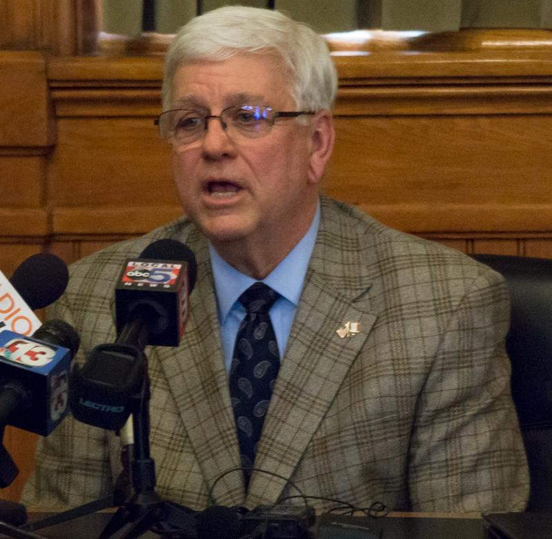 Dept. of Human Services Dir. Jerry Foxhoven