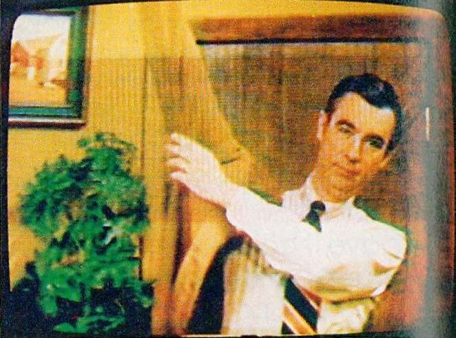 Image from the Mr. Rogers' Neighborhood archive at the University of Pittsburgh, as featured in Library Video Magazine (vol. 2, no. 1) and the December 1987 issue of American Libraries.