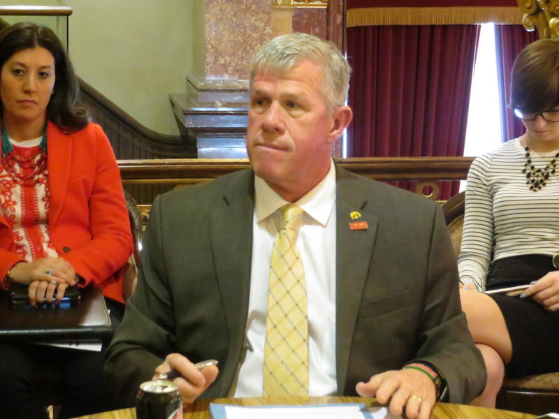 Sen. Brad Zaun (R-Urbandale) says current marijuana laws in Iowa punish youthful indiscretion too harshly.