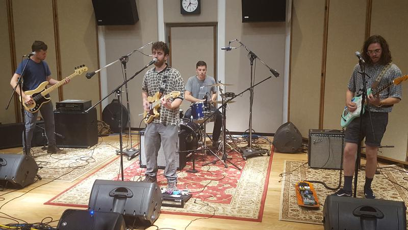 The Fuss performing in IPR's Cedar Falls studios.
