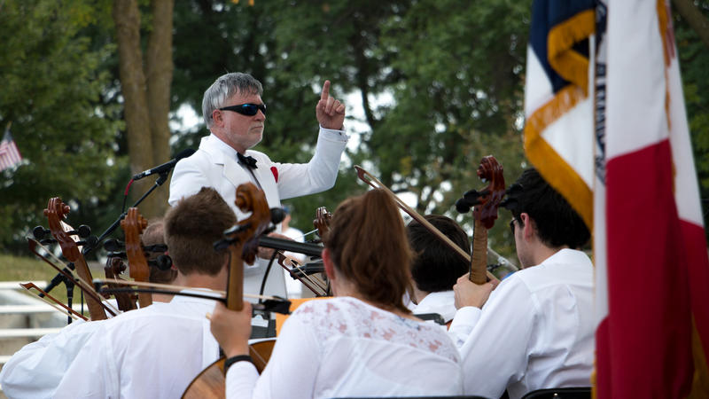 Iowa State Fair performance from Des Moines Symphony with conductor Joseph Giunta