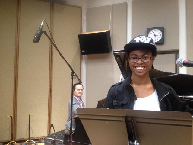 UNI student musician Athena-Sade Whiteside