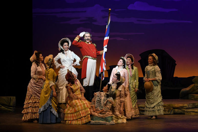 "U of Iowa's production of ""The Pirates of Penzance"""