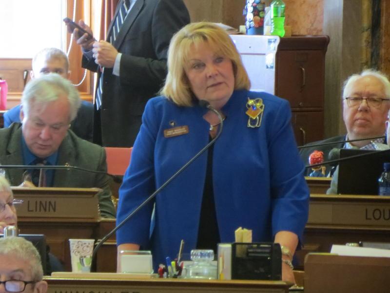 Rep. Cindy Winkler (D-Davenport)