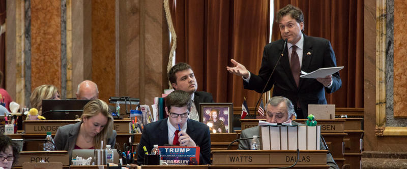 Representative Jon Jacobson supports SF 481 in part because an illegal immigrant killed an Iowan while driving drunk.
