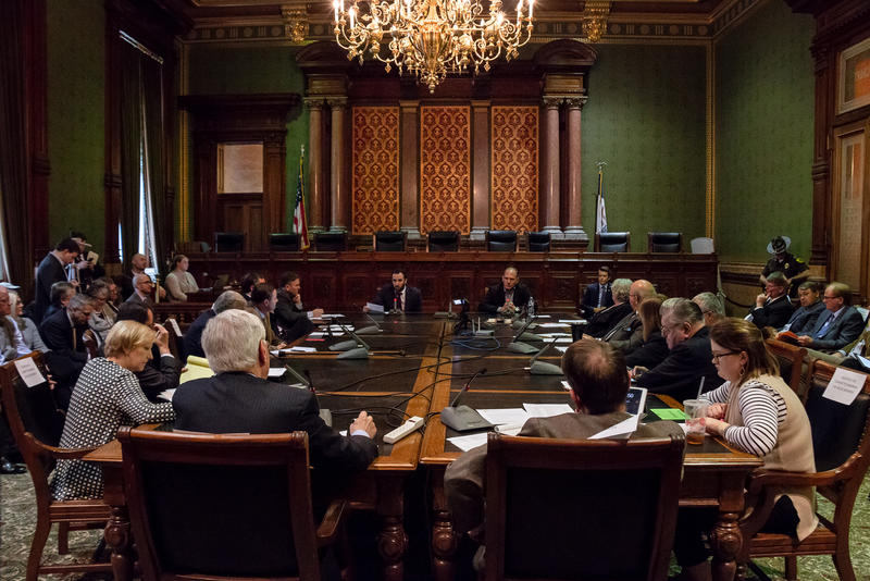 Public Hearing on House Study Bill 671, at the Iowa Statehouse