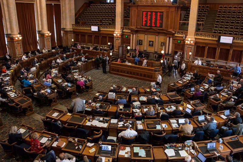 Iowa House of Representatives, May 5, 2018