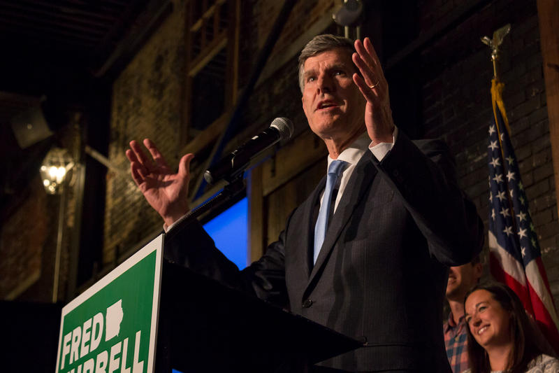 Democratic Gubernatorial Nominee Fred Hubbell