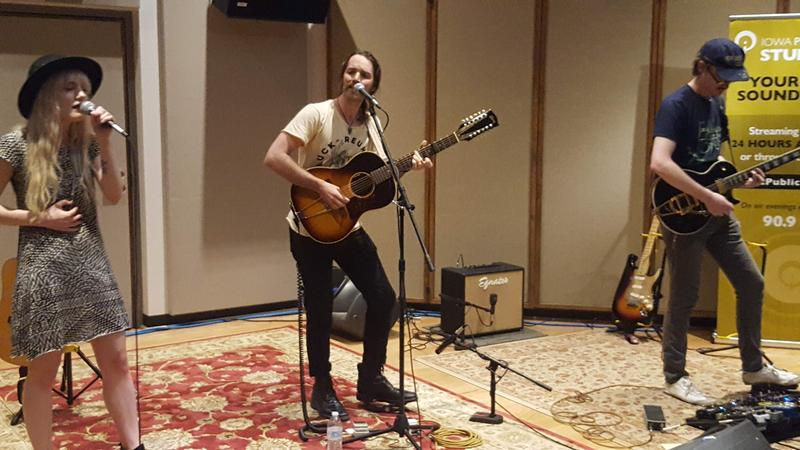 Field Division performing live on IPR's Studio One Tracks.