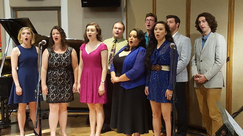 "Singers from Cedar Rapids Opera Theatre perform a selection from ""Brigadoon"" live on IPR Classical."