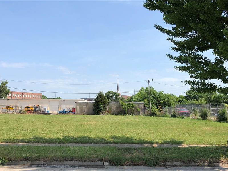 A vacant lot near the old location of Bimm Ridder Sportswear at 1600 3rd Street SE in Cedar Rapids.